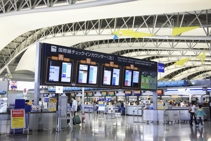 Foreigners outnumbered Japanese at Kansai Airport in FY2014 for the first time in its history