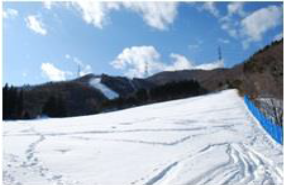 JTB sells a slope chartering plan for foreign skiers in Minakami, Gunma Prefecture