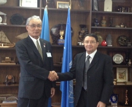 Japan Travel and Tourism Association made a business tie-up with UNWTO