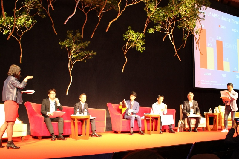 Five major Japanese OTAs talk about their future businesses at WIT Japan 2016