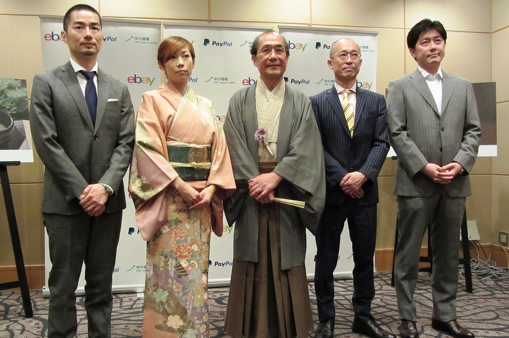 eBay Japan supports cross-border EC for local traditional arts and craft in Kyoto