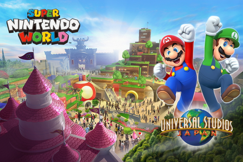 Nintendo theme area will open in Universal Studio Japan before Tokyo Olympics
