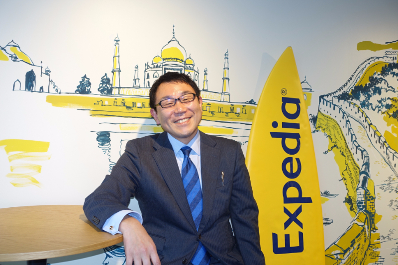 Head of Expedia Japan talks about the business strategy for 2017 to win severer competition with rivals