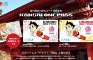 Nine railway companies in Kansai sell shared railway pass for international visitors to Japan