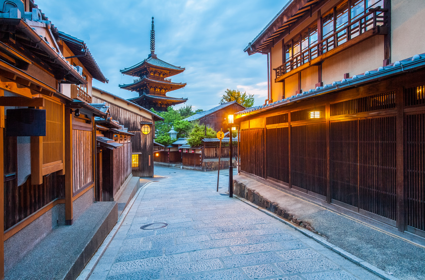 Wacoal, the Japan's leading underwear maker, launches a lodging service in Kyoto, renovating traditional houses