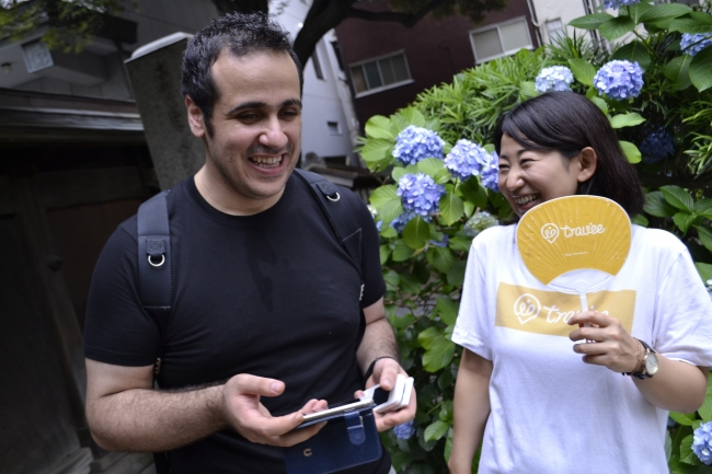 The amended tourist guide law allows H.I.S. to start operating a new platform for international visitors to Japan