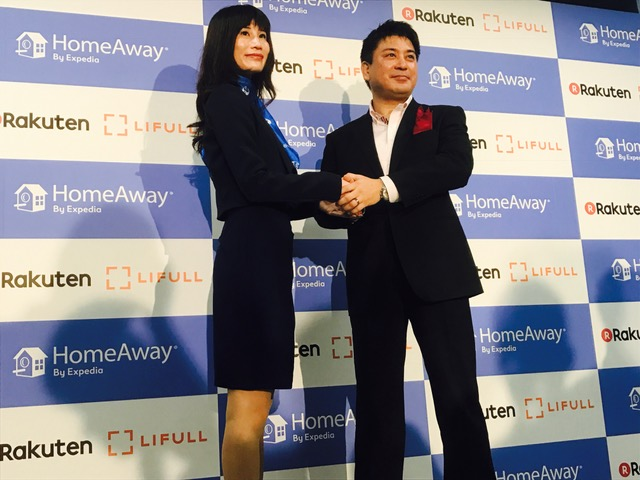 Rakuten LIFULL STAY and HomeAway tie up for the vacation rental business in Japan for international visitors