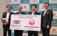 JAL and TripAdvisor work together for inbound tourism promotions, offering