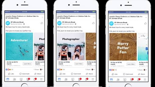 Facebook enriches its ads solution for the travel industry to reach people who are most likely to book