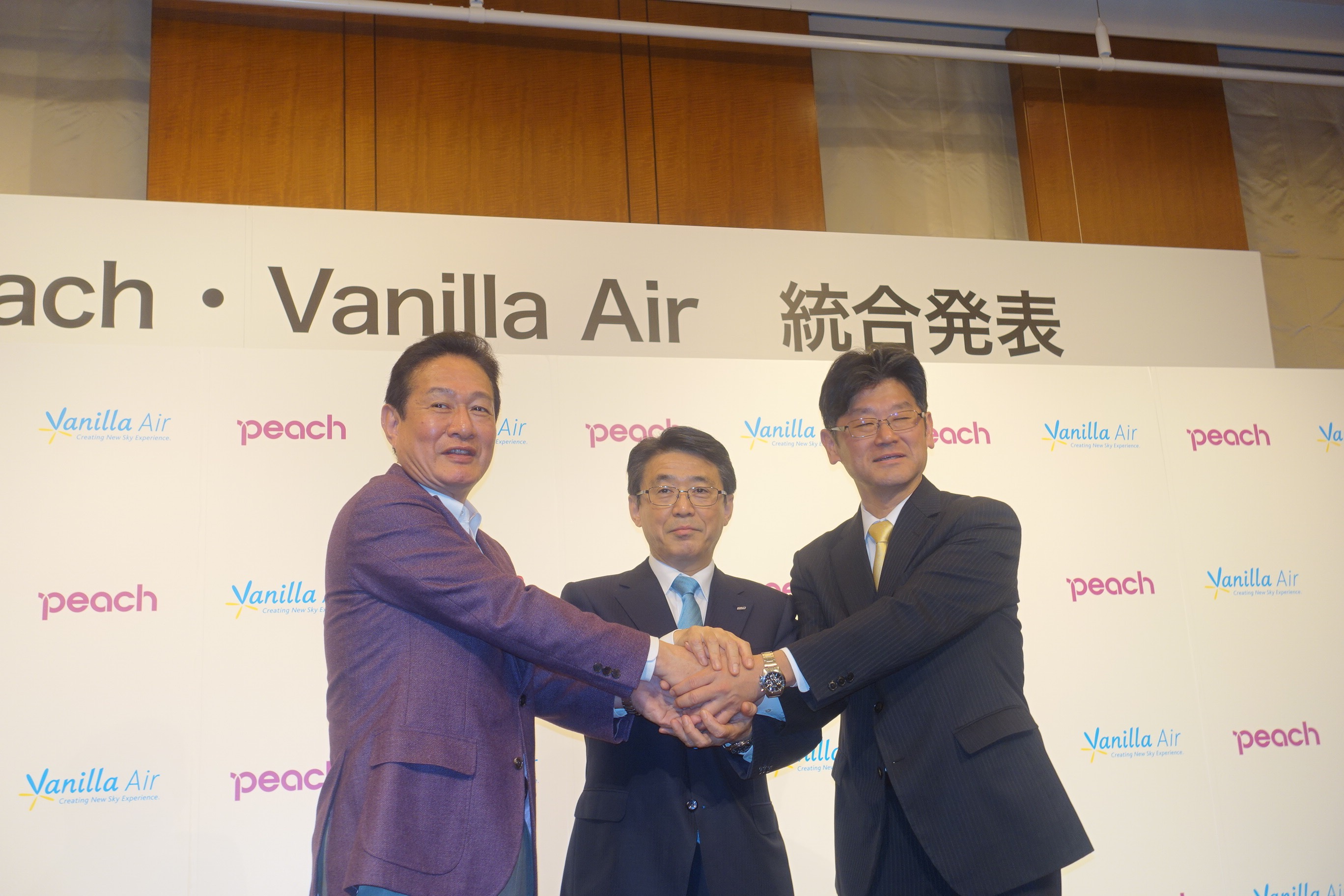 Japanese LCCs, Peach Aviation and Vanilla Air of ANA Group, will merge into Peach by the end of FY2019