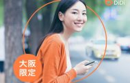 China-based taxi dispatch service DiDi launches its service in Osaka, Japan