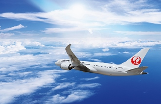 JAL increases both half-year revenue and profit with the record-high international load factor