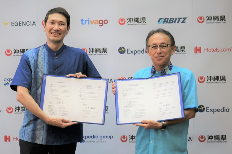 Expedia and Okinawa form partnership to increase visitors from Europe and U.S.A. by using big data