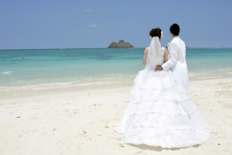 Wedding couples in Okinawa were record-high for the first half of 2018, generating an economic effect of 11 billion JPY