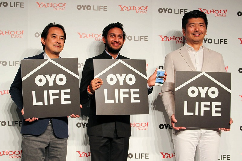 Emerging Indian hotel chain enters rental-housing service in Japan, working with Yahoo Japan
