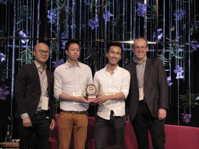 Hong Kong-based Klook won Start-up Pitch in 2015