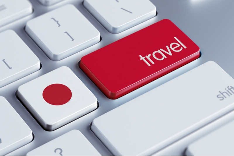 Japanese travelers tend to select booking sites based on 'price,' 'reviews' and 'search functions'