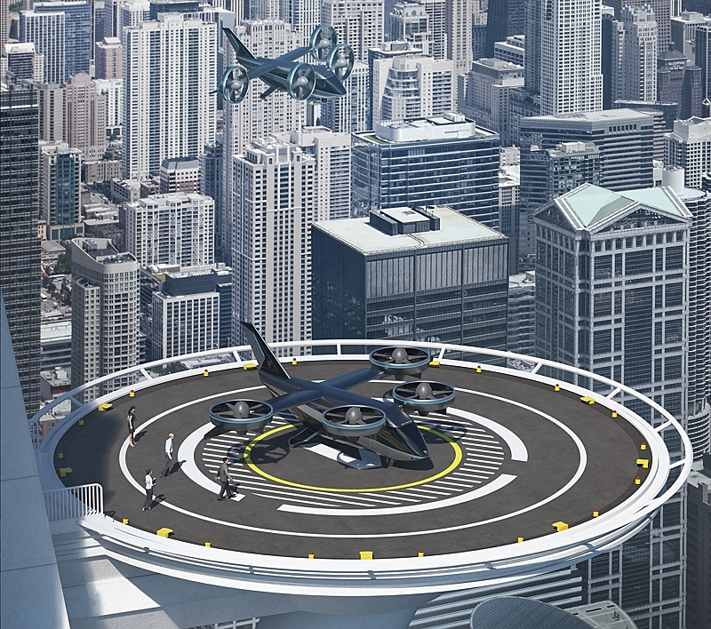 JAL, Sumitomo and Bell work together to develop an eVTOL 'Flying Car' service