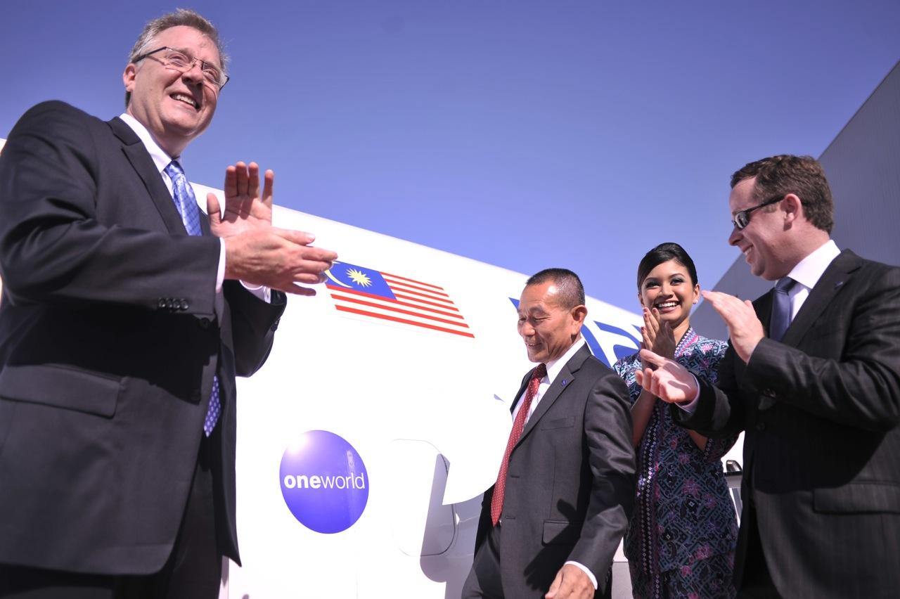 ワンワールド、マレーシア航空が正式加盟、記念キャンペーンも