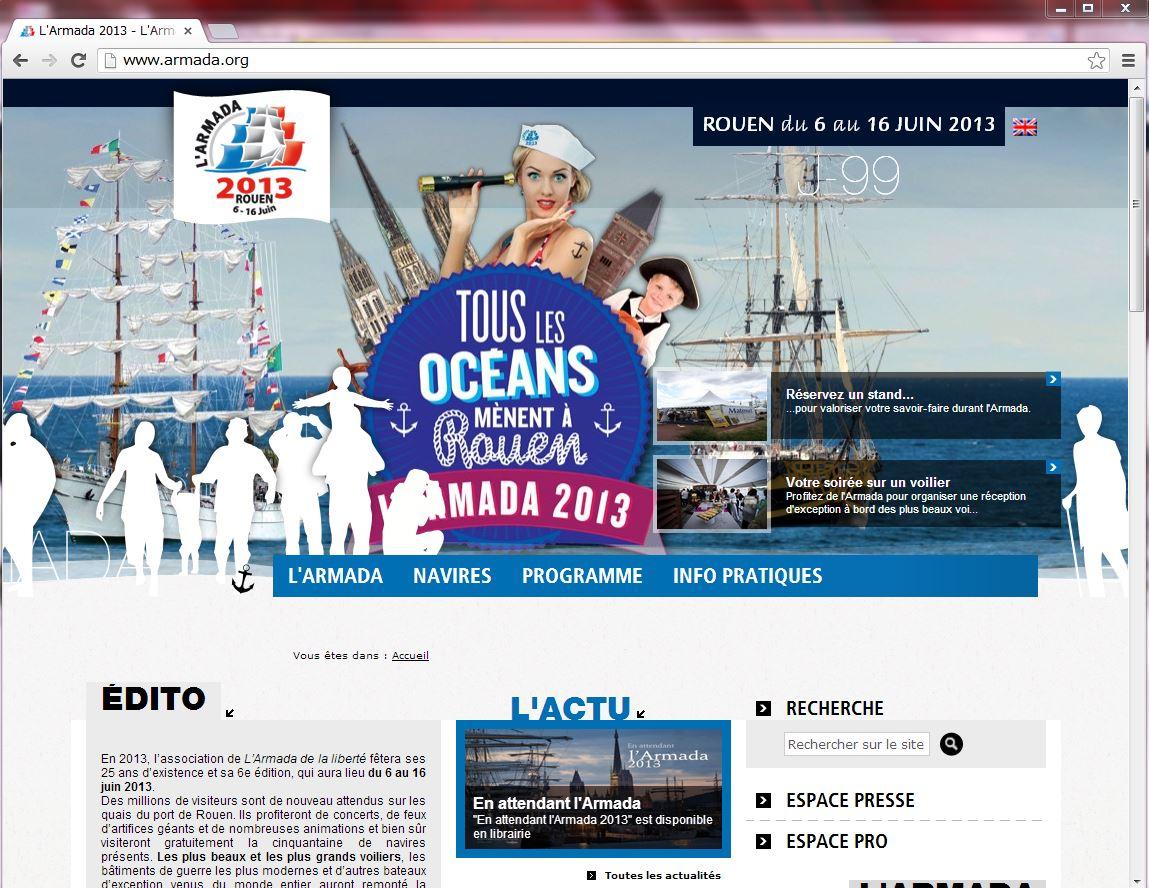 フランス、5年に一度のフェスティバル開催、世界の帆船が集結、2013年6月