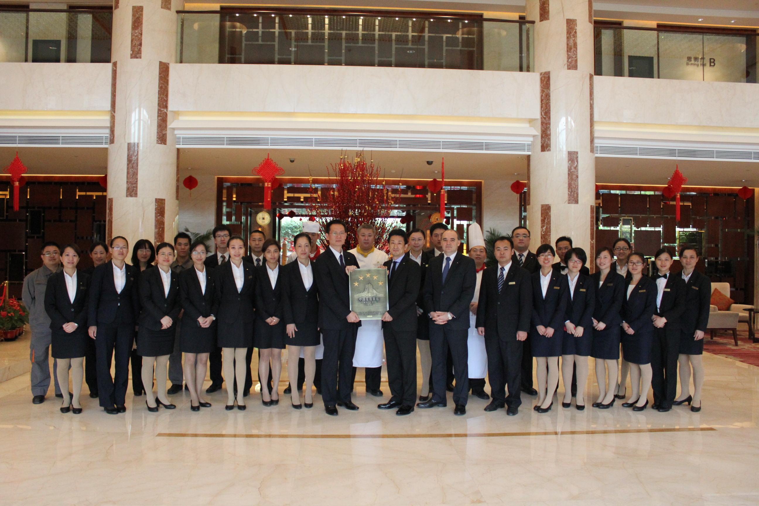 ホテル・ニッコー厦門、5つ星を認定-厦門の日系ホテルで初