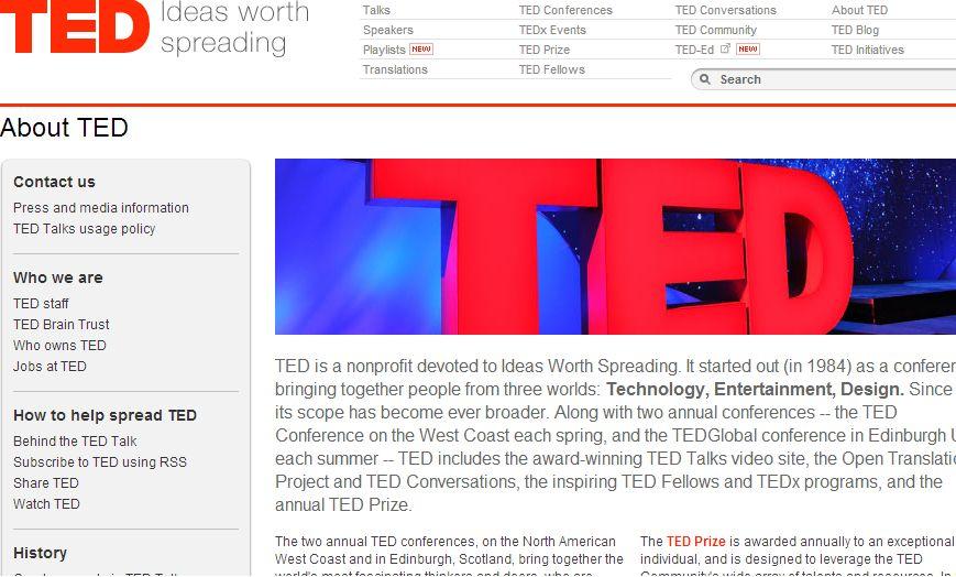 WS000005 カナダ観光局によると、2014年の「TEDカンファレンス」が、ブリティ...