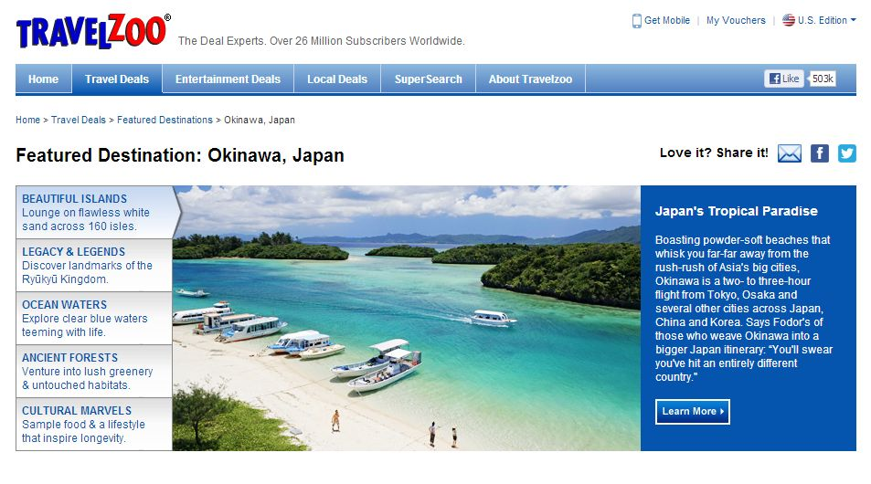 沖縄、訪日旅行促進でオンライン特集を開始 ー欧米市場で