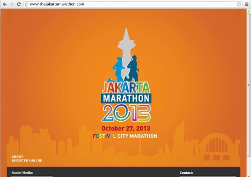 インドネシア、スポーツ観光拡大へ、初の「ジャカルタマラソン2013」を開催