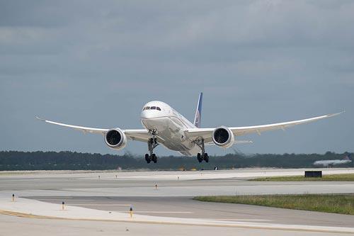 ユナイテッド航空、成田/デンバー線でB787運航再開を決定