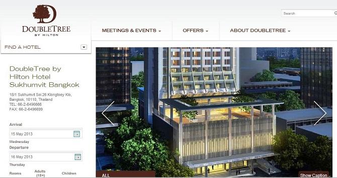 ヒルトン、アジア太平洋地区100軒目をバンコクに開業、5年間で170軒の開業を計画