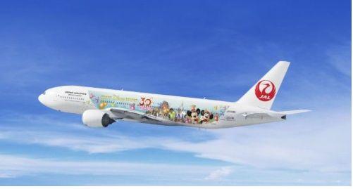 JAL、特別塗装機「JALハピネスエクスプレス」全6機を記念するキャンペーン実施
