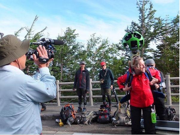 Google、富士山のストリートビューを公開、CNN同行で世界に発信