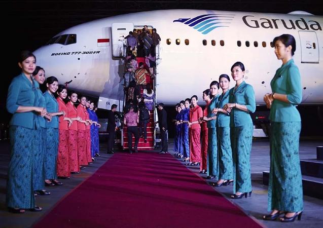 ガルーダ・インドネシア、今夏成田線にB777-300ERを投入