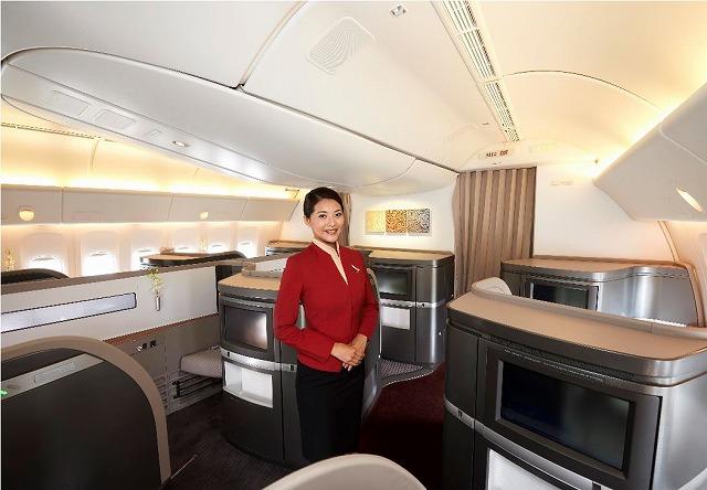 キャセイパシフィック航空、新ファーストクラスの搭載を開始