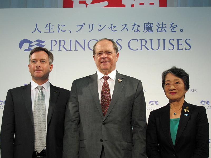 プリンセス・クルーズ、日本市場に対応する改装発表、日本発着クルーズ成功で