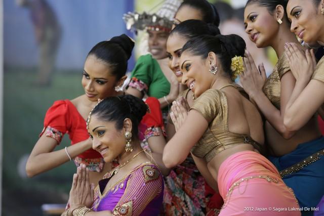 スリランカフェスティバル開催、食・文化の展示で魅力をアピール