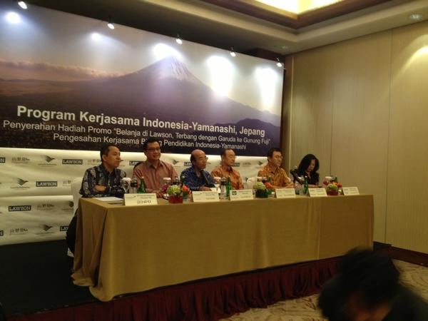 ガルーダ・インドネシア航空、観光需要の創出で山梨県と連携協定