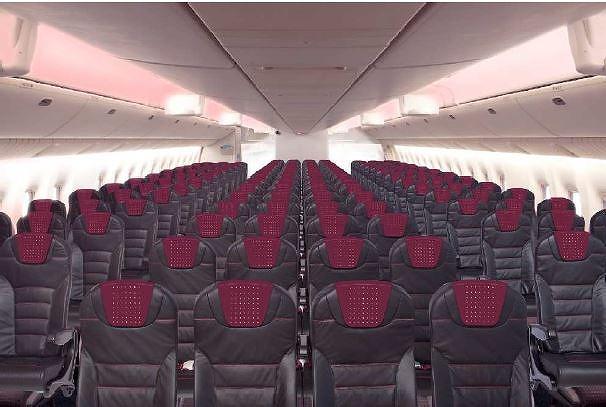 JAL、国内線の機内インテリア全面刷新、インターネットも可能に