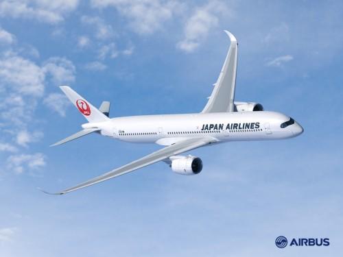 JAL、A350型機導入を決定、初めてエアバス機を発注
