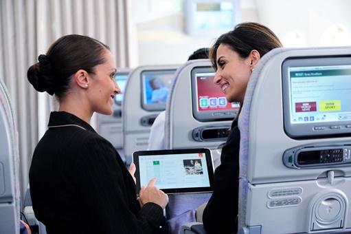 エミレーツ航空、機内コミュニケーションと顧客管理のアプリーションで表彰