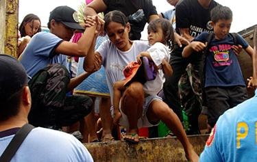 フィリピン台風被害、日本ユニセフとチャイルド・ファンド・ジャパンが支援呼びかけ