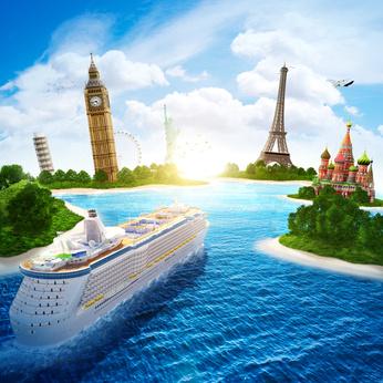 世界のクルーズ客船が集結する「3大クルーズエリア」、カリブ海・エーゲ海・アラスカの特徴を知る