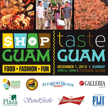グアム政府観光局、「ショップ・グアム・フェスティバル2013」開催、アプリもリリース
