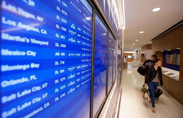 デルタ航空、11月の太平洋線ロードファクターは81.5%
