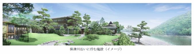 森トラスト、京都・嵐山地区の歴史的景勝地に高級宿泊施設を建設
