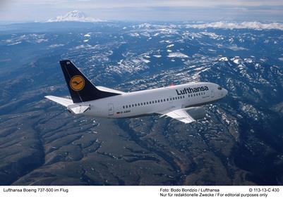 ルフトハンザ、ヨーロッパで高い定時運航率、ミュンヘンは93.3%で1位