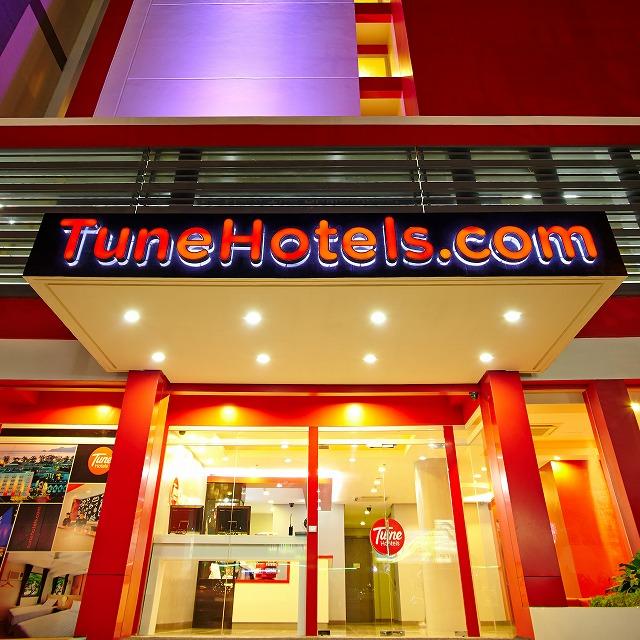 チューンホテルズ、日本のバリューホテル市場獲得へ、2020年までに20軒開業