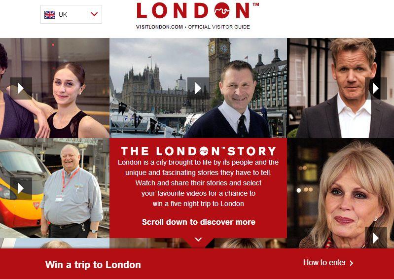 英・ロンドン、外国人旅行者1600万人目指しキャンペーン、セレブが語る動画で