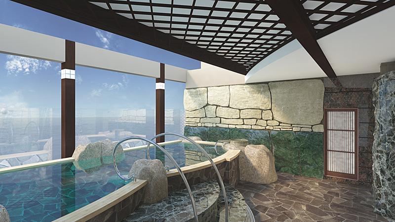 ダイヤモンド・プリンセス、Facebookキャンペーンで新設の大浴場を「泉の湯」と命名