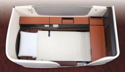 JAL、国際線ファースクラスでもエアウィーヴ導入、最上級の快眠を実現